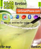 Cocktail tema screenshot