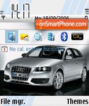 Скриншот темы Audi