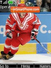 Alexandr Ovechkin theme screenshot