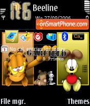 Garfield And Friends theme screenshot