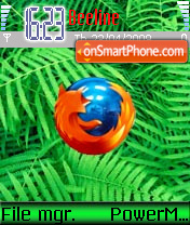 Exteme Firefox theme screenshot