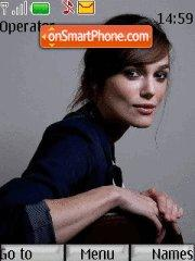 Keira Knightley theme screenshot