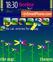 Скриншот темы Happy S60