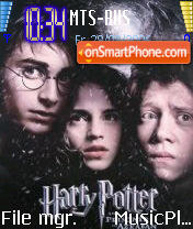Harry Potter 2 theme screenshot