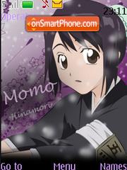 Скриншот темы Momo Hinamori