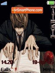 Death Note es el tema de pantalla