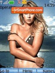 Maria Sharapova tema screenshot