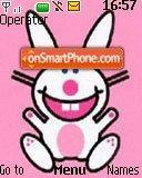 Happy Bunny es el tema de pantalla