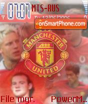 Manchester United 2004 theme screenshot
