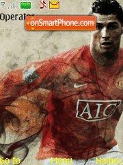 Ronaldo theme screenshot