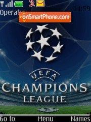 UEFA Champions League tema screenshot