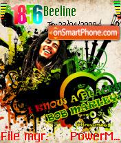 Reggae Rasta Man es el tema de pantalla