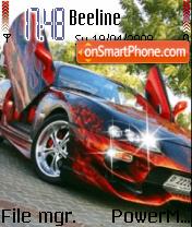 Sport Car 03 es el tema de pantalla