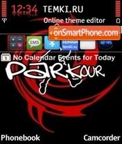 Parkour 05 theme screenshot