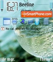 White Vine theme screenshot