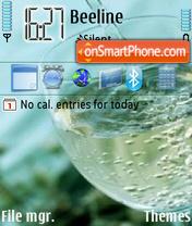 Скриншот темы White Vine
