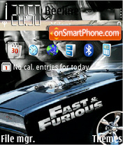 Fast and Furious 4 03 theme screenshot