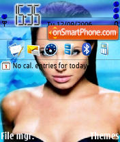 Angelina Jolie 02 theme screenshot
