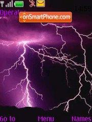 Lightning tema screenshot