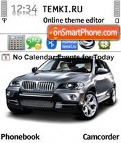 Скриншот темы BMW X5 07