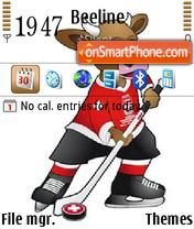 IIHF 2009 theme screenshot