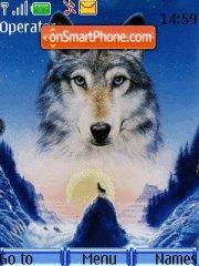 Wolfs tema screenshot