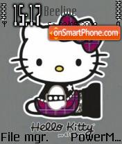 Hello Kitty Pink theme screenshot