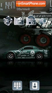 NFS Pro Speed 5th theme screenshot
