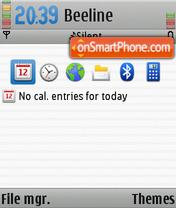 Capture d'écran Mac-OS thème