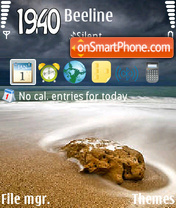 Sea - shell theme screenshot