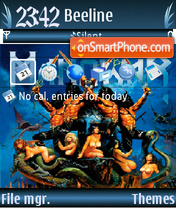 Manowar2 theme screenshot