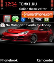 Porsche Carrera 04 theme screenshot