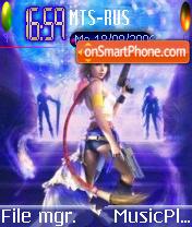 Final Fantasy X2 theme screenshot