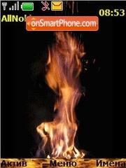 Скриншот темы Fire