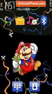 Super Mario 06 theme screenshot