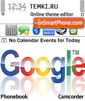 Google 04 theme screenshot