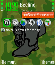 Boots tema screenshot