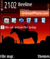 CowBoy FP2 DI theme screenshot