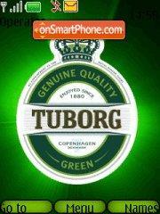 Tuborg Green es el tema de pantalla