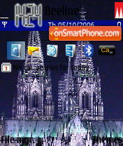 Koelner Dom theme screenshot