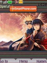 Hinata And Naruto tema screenshot