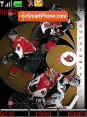 Ottawa Senators theme screenshot