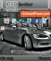 BMW 2011 theme screenshot