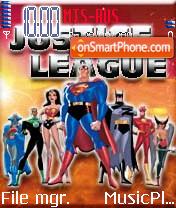 Скриншот темы Justice League
