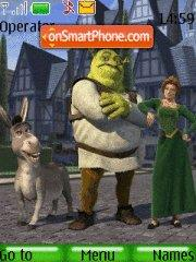 Shrek theme screenshot