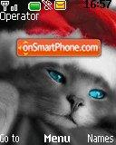 Santa Kitty theme screenshot