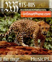 Jaguar Animal theme screenshot
