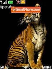 Wild Cat tema screenshot