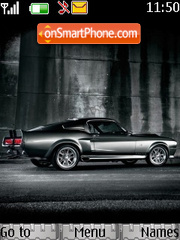 Ford Mustang theme screenshot
