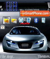 Audi RSQ theme screenshot